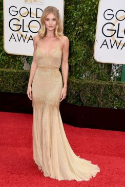 Rosie Huntington Whiteley Golden Globes Atelier Versace