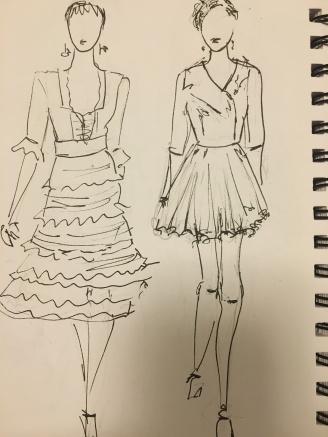 Temperley and McQueen- From my sketchbook